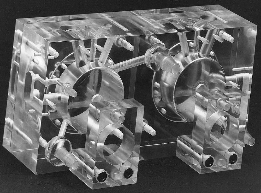 Machined Plexiglass (1984)
