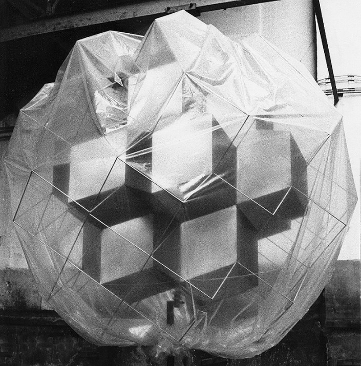 Stainless Steel Sculpture (1969)